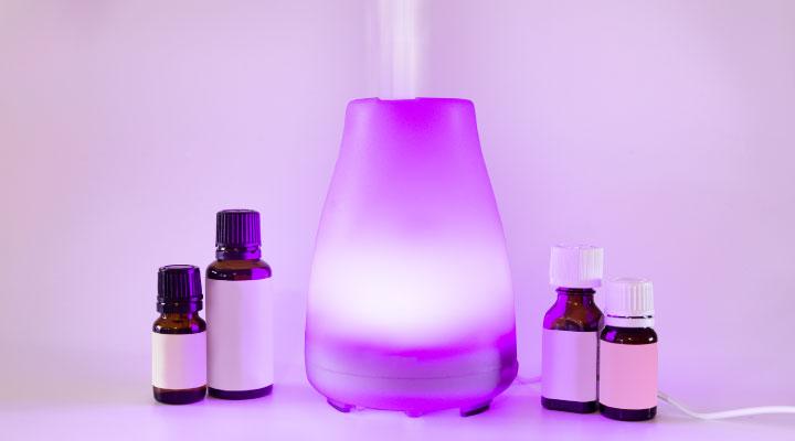 Aromatherapy equipment.